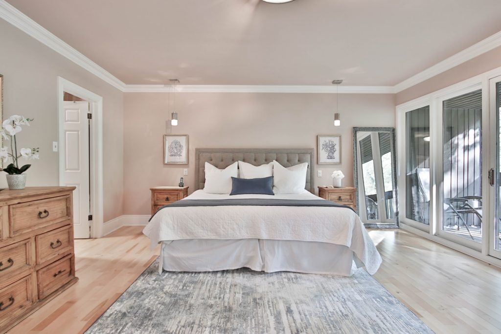 crown molding in bedroom - yes or no