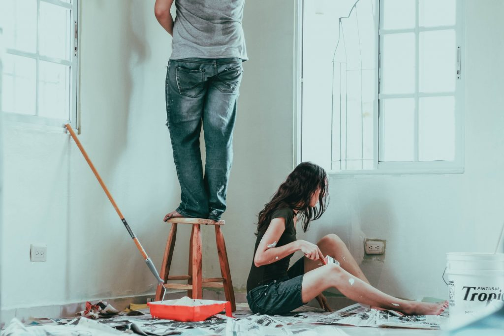 Should you paint dark or light walls first