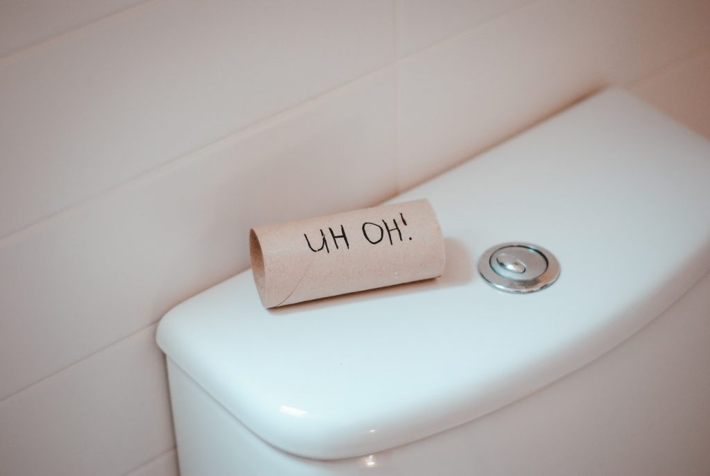 can a toilet bowl crack on its own