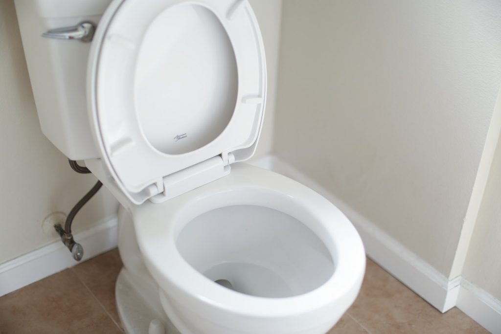 can a toilet fall through the floor
