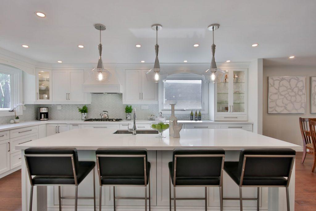 should kitchen cabinets match interior doors