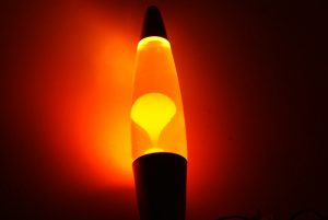 What happens if you shake a lava lamp