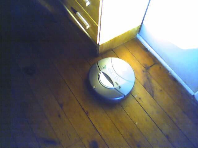 roomba leaving marks on floor