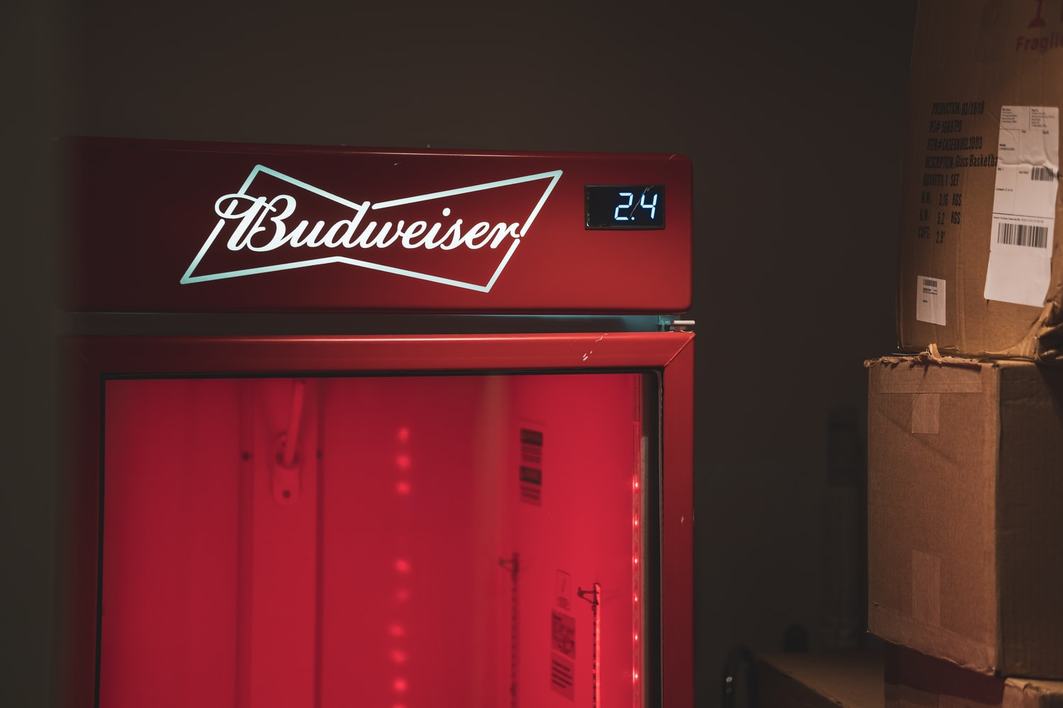 where to put a mini fridge in your room