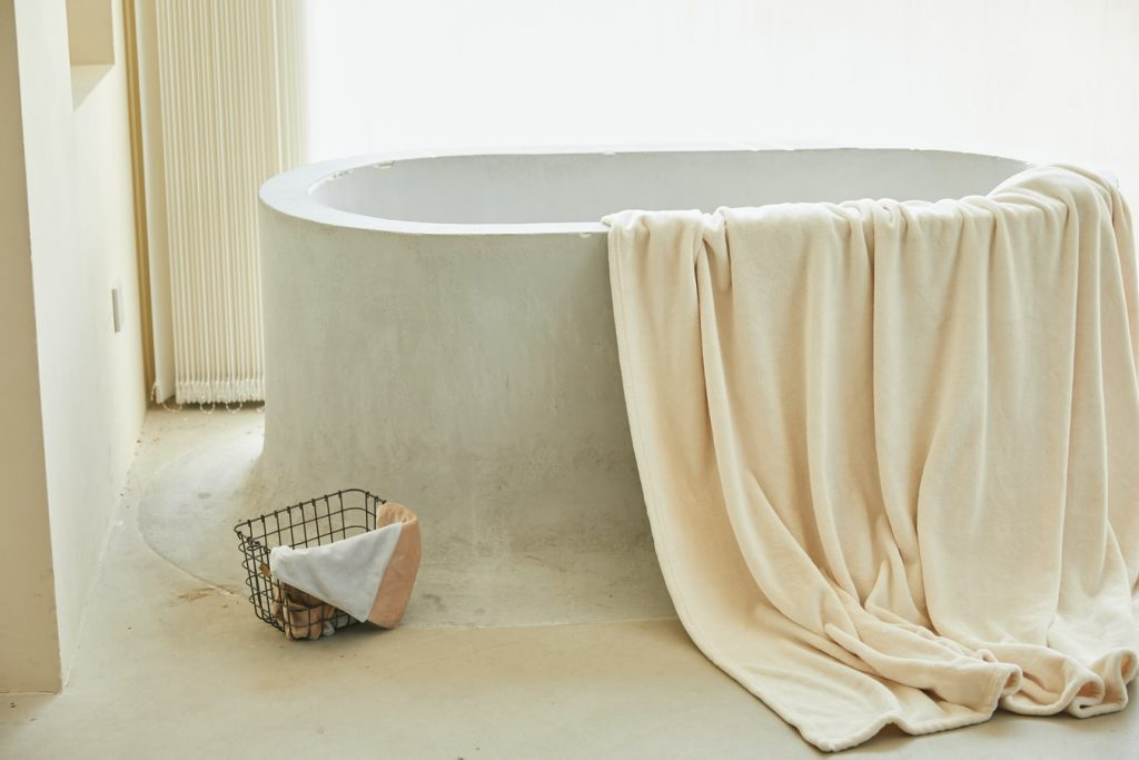 towel bar for inside shower