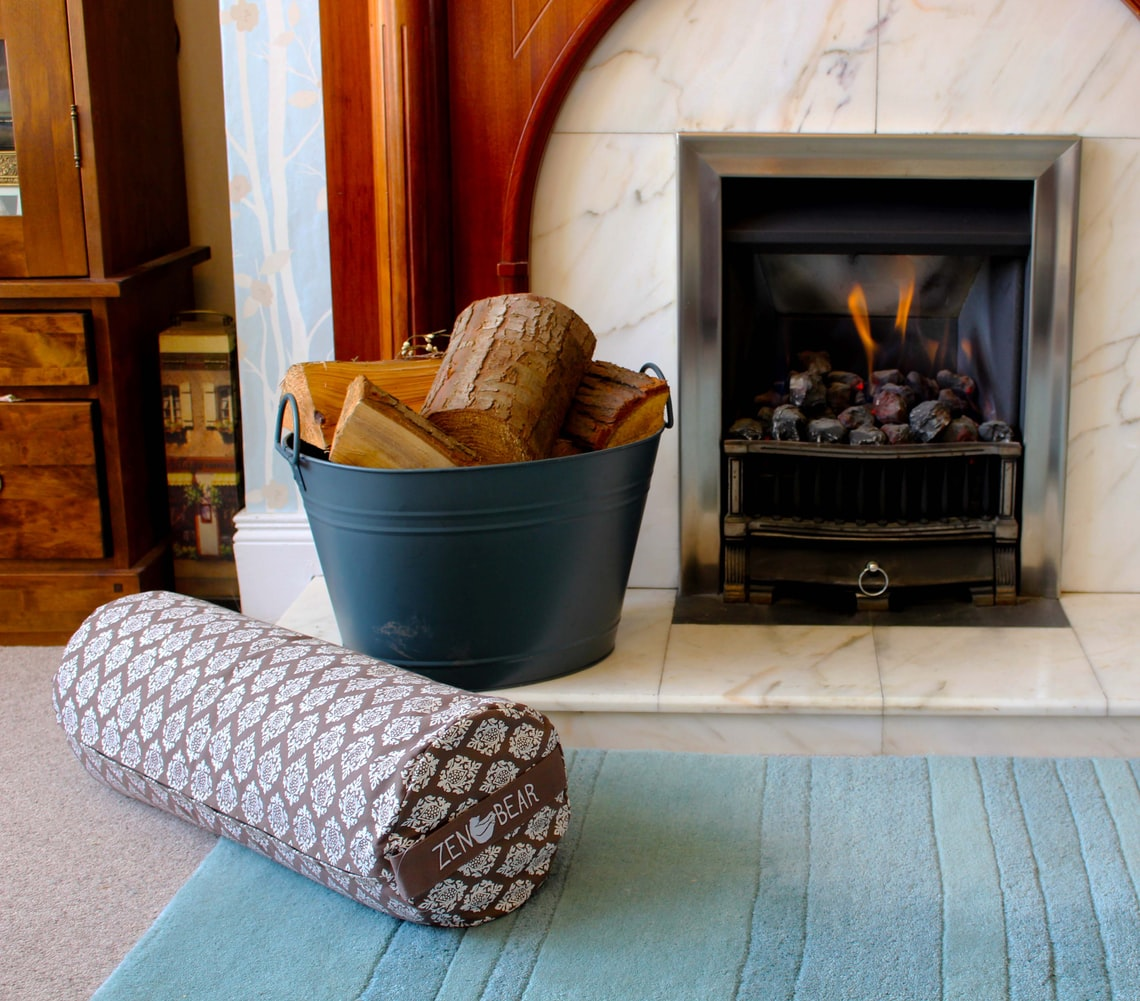 How big should the pilot light be on a gas fireplace