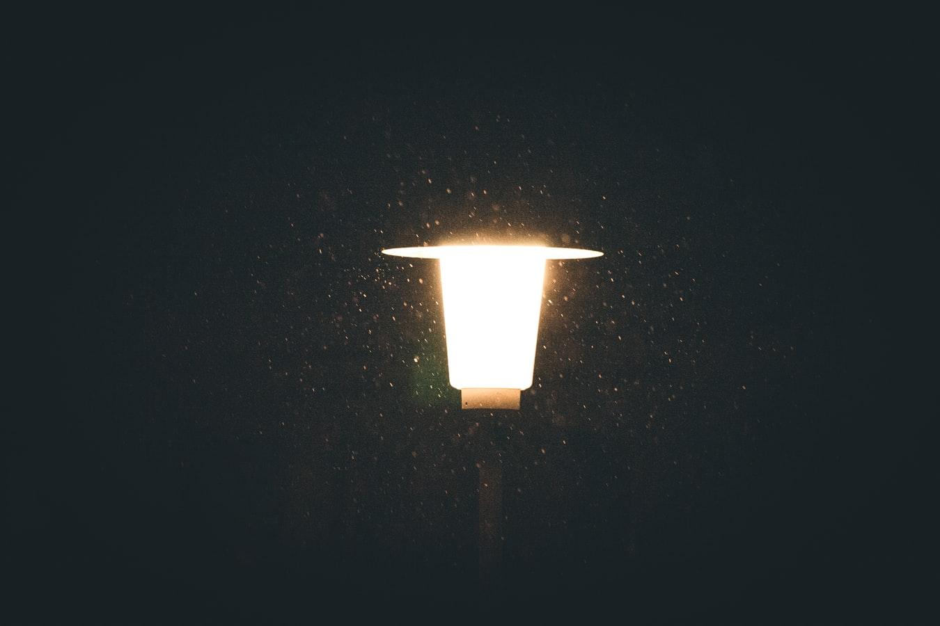 neighbors leave lights on all night