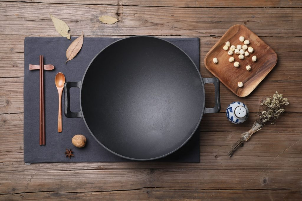 wok on electric stoves