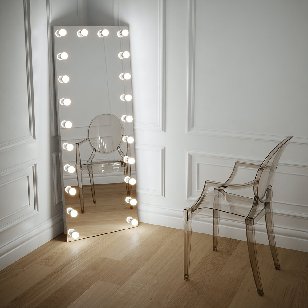room with mirrors on all sides