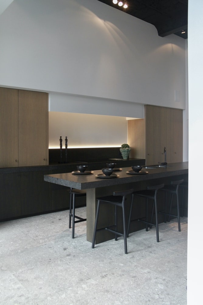 can a kitchen island be off center