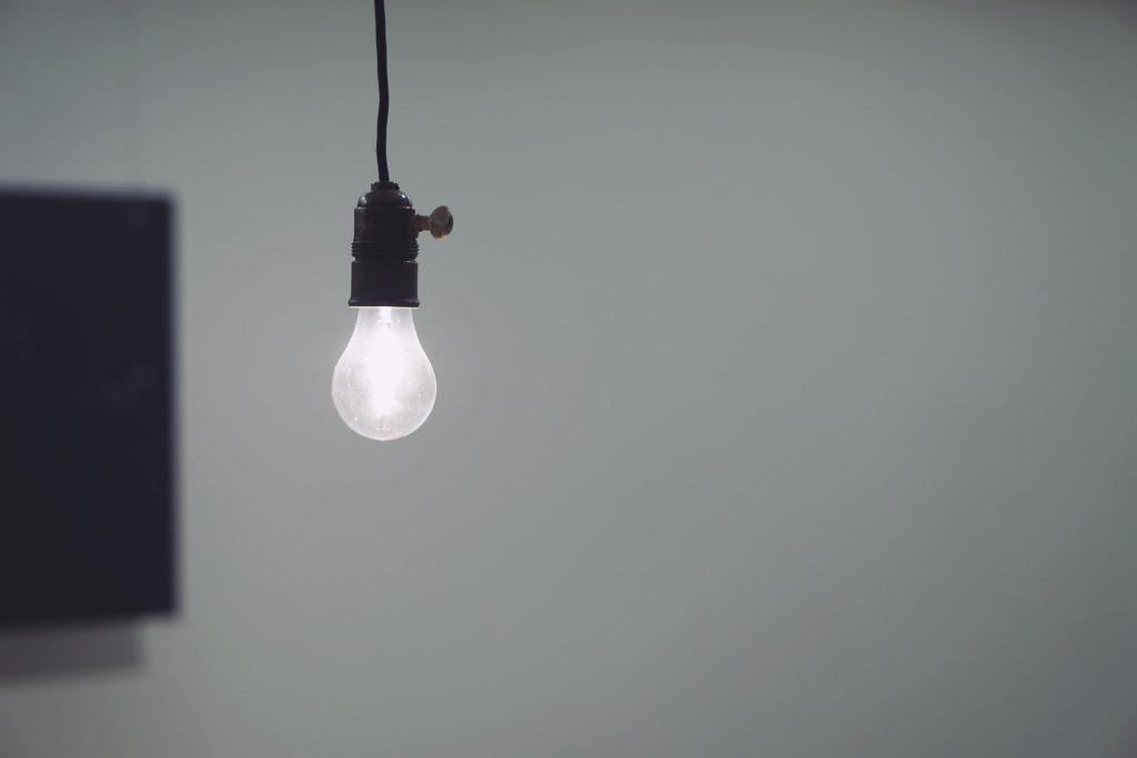 Which light bulbs produce the least heat