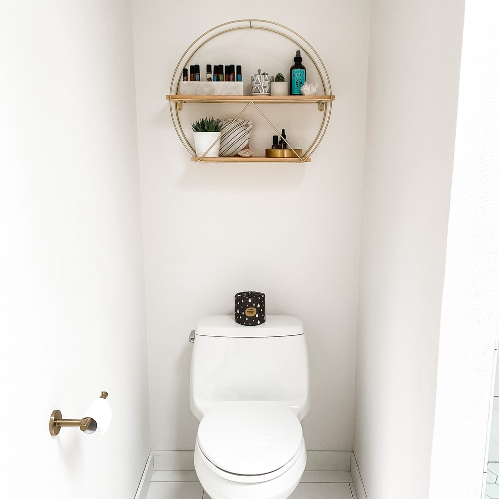 how to paint a toilet