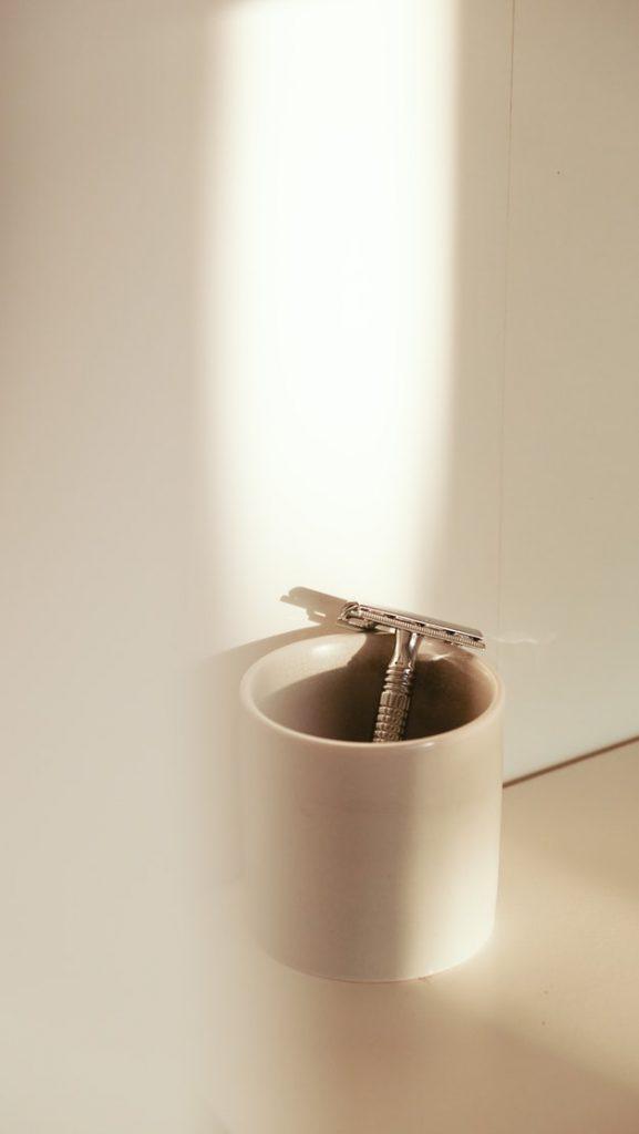 dropped razor down shower drain