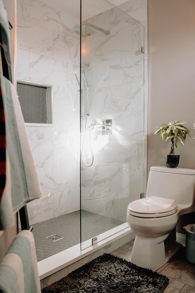 shower drain leak